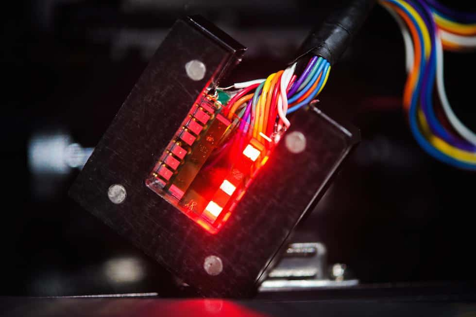 A new type of LED made with perovskites Credit: Sameer A. Khan/Fotobuddy