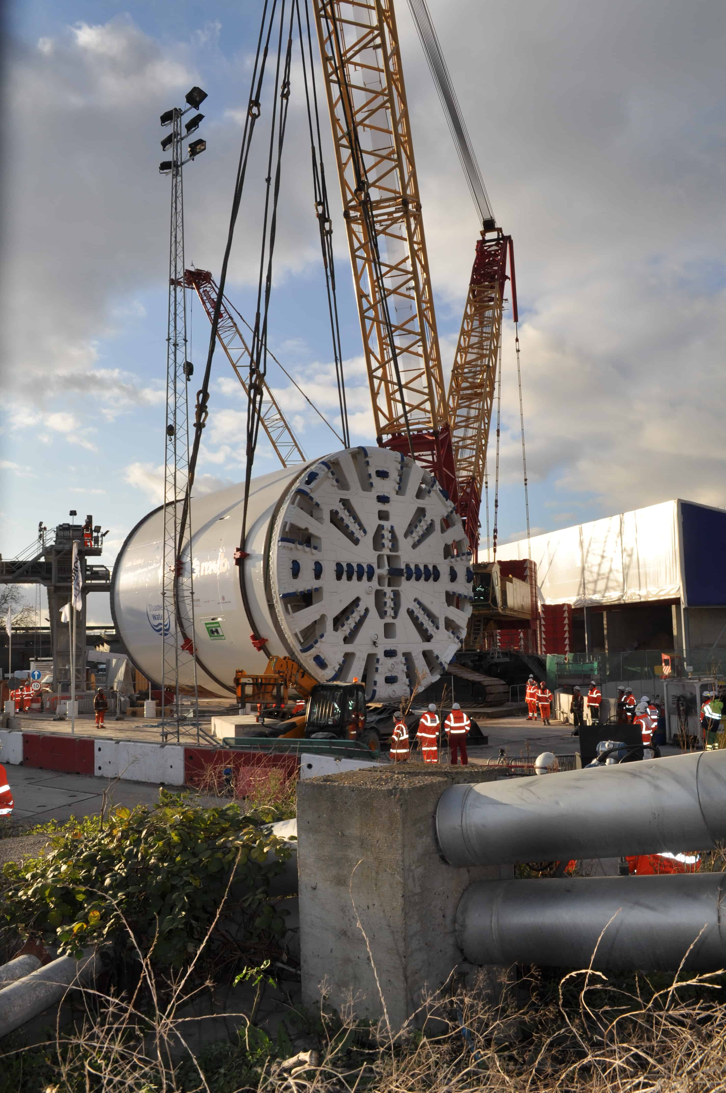 Te Thames Tideway tunnel - of which the Lee Tunnel, bored by this machine, is a part - will need large numbers of engineers