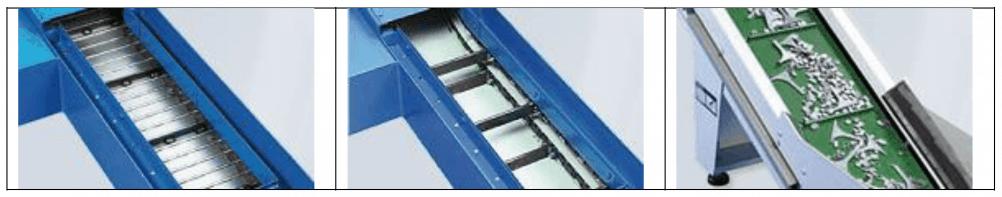 conveyor, guideways