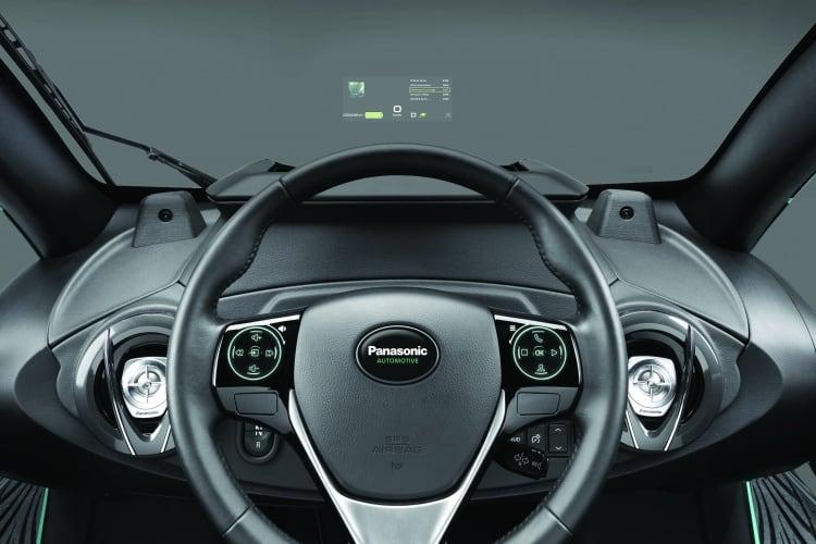 Panasonic's AR windshield HUD
