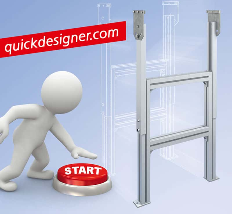 QuickDesigner conveyor configurator