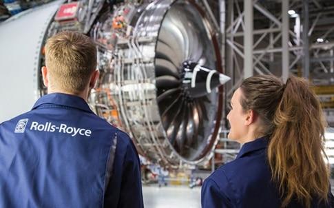Rolls-Royce employees