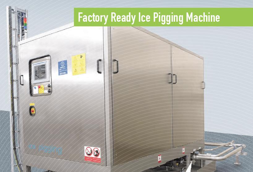 AQL500 factory-ready ice-pigging machine