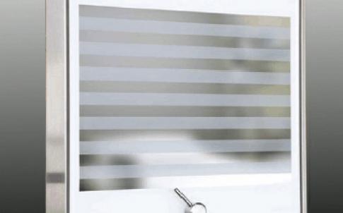 Laser-blocking vision panel