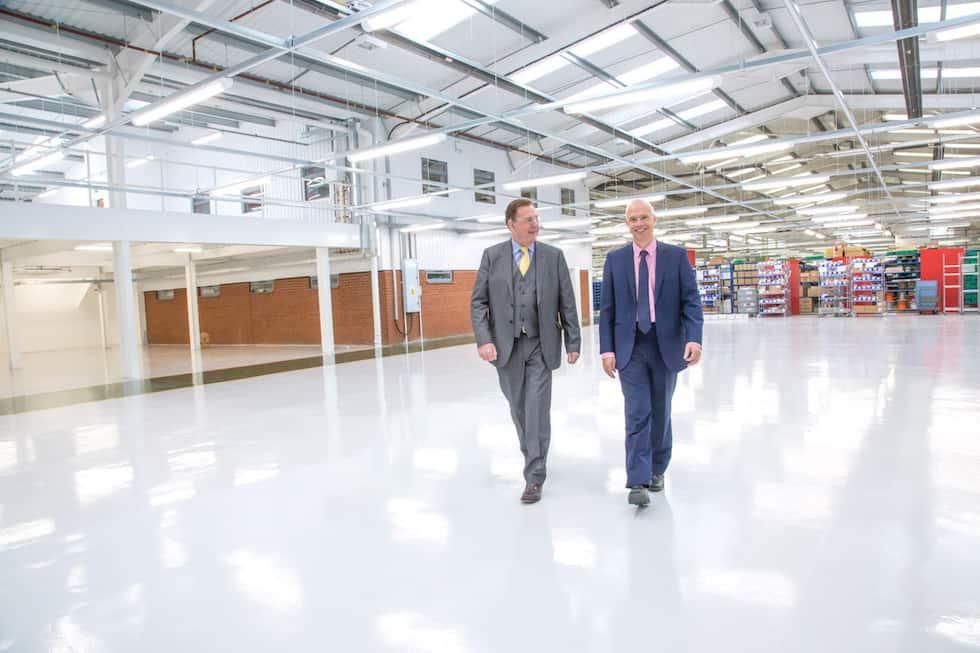 Tony Hague and David Fox, both PP Control & Automation