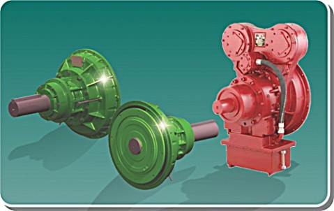 Hydraulically actuated power take-off units