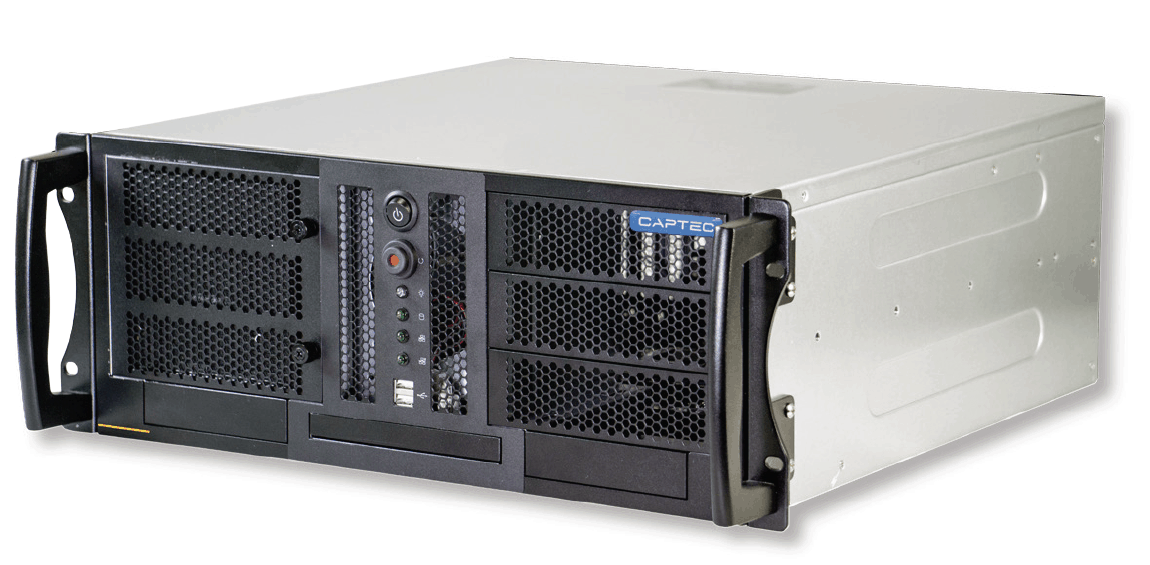 IC-445-B 4U rack-mount computer for industrial applications