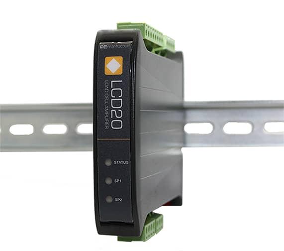 LCD20 DIN Rail Load Cell Amplifier