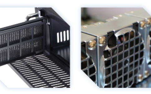 rack computer for controlled applications