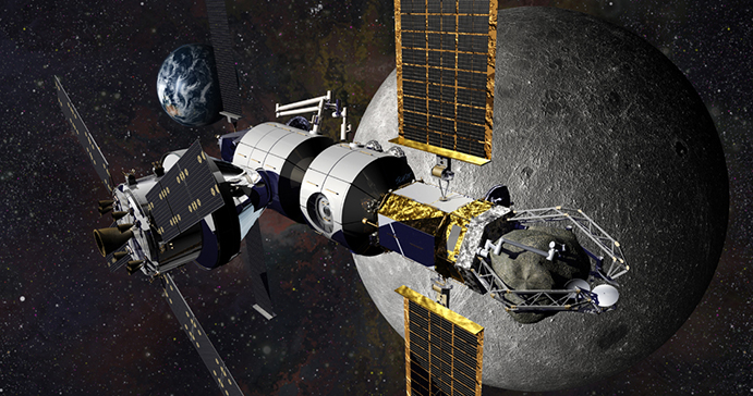 DSG with captive asteroid