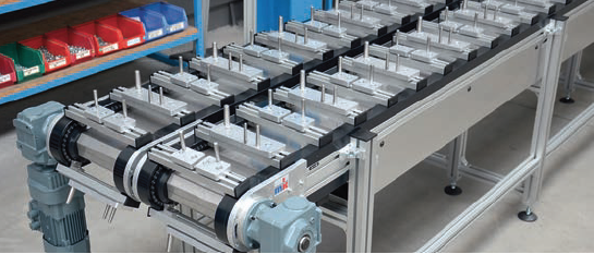 TKU 2040 Indexing Chain Conveyor System
