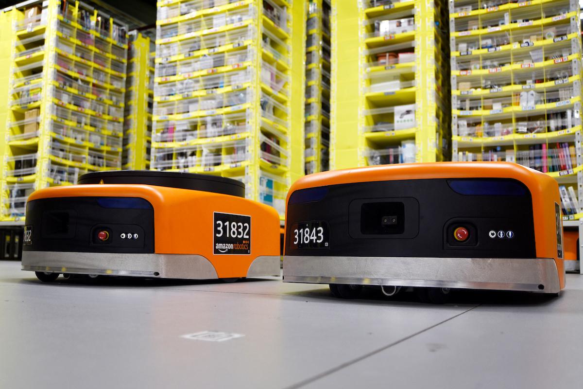 Amazon robots Dunstable