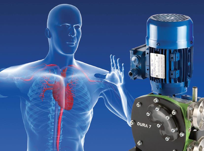 High-pressure low-volume dosing pumps