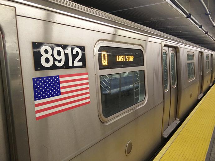 Second Avenue Subway train