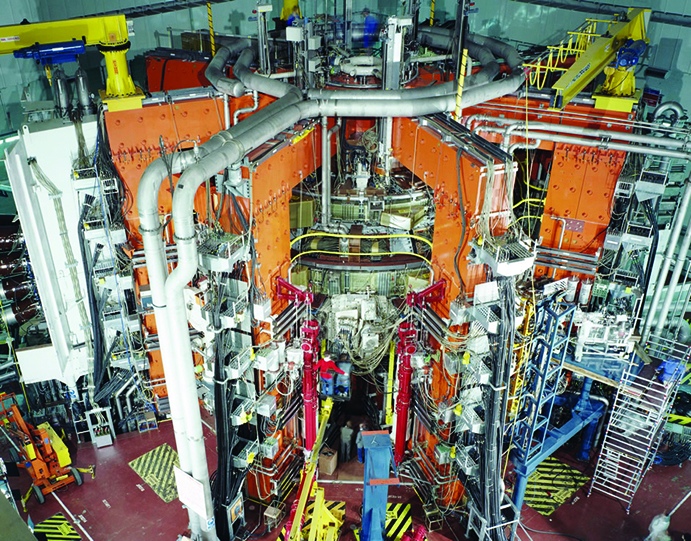 JET nuclear fusion programme