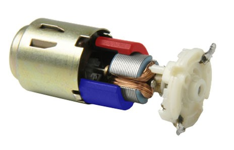 Conventional iron core motor