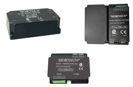DC/DC converters for industrial and solar array applications