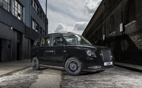 electric London taxi cab