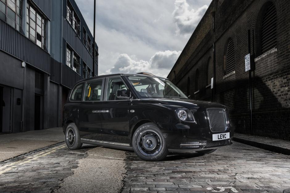electric London taxi cab