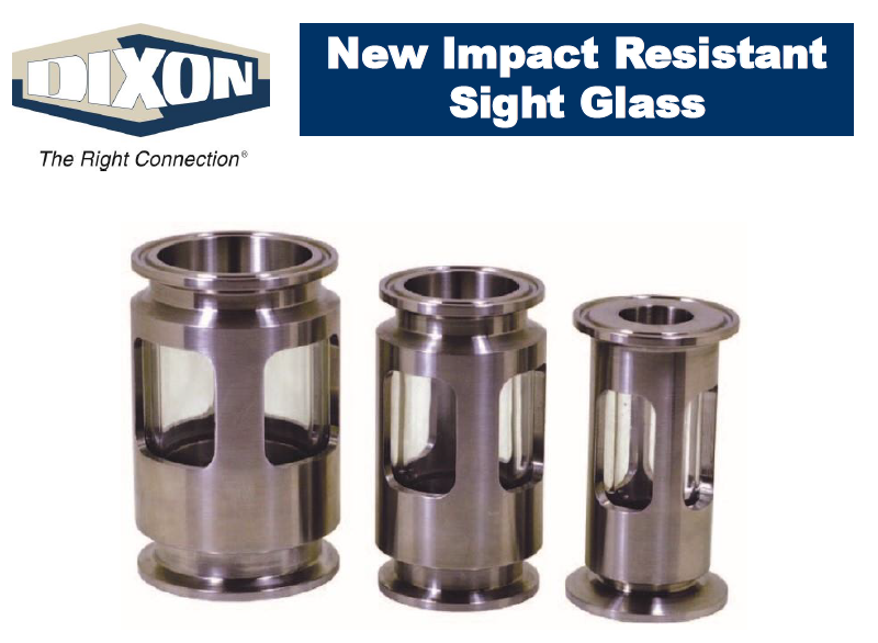 Impact-resistant sight glass