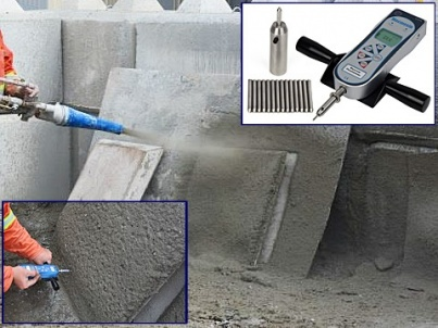 Shotcrete Early Strength Calibration Studies