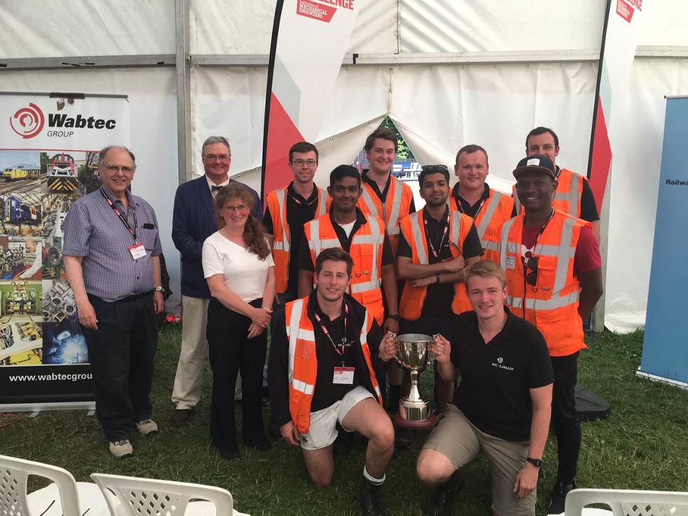 Winners of IMechE's Railway Challenge 2017