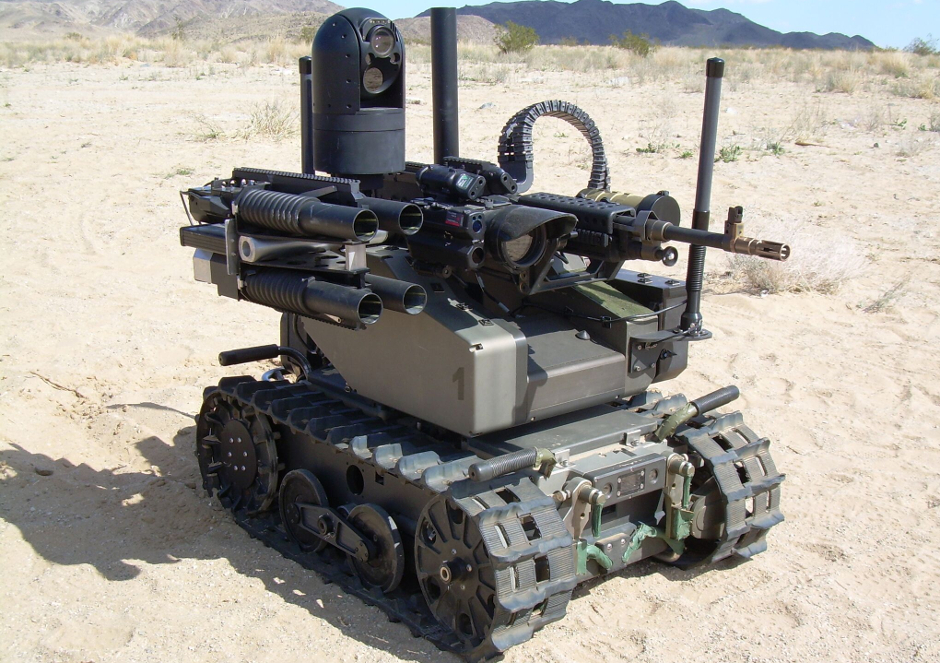 Modular Advanced Armed Robotic System