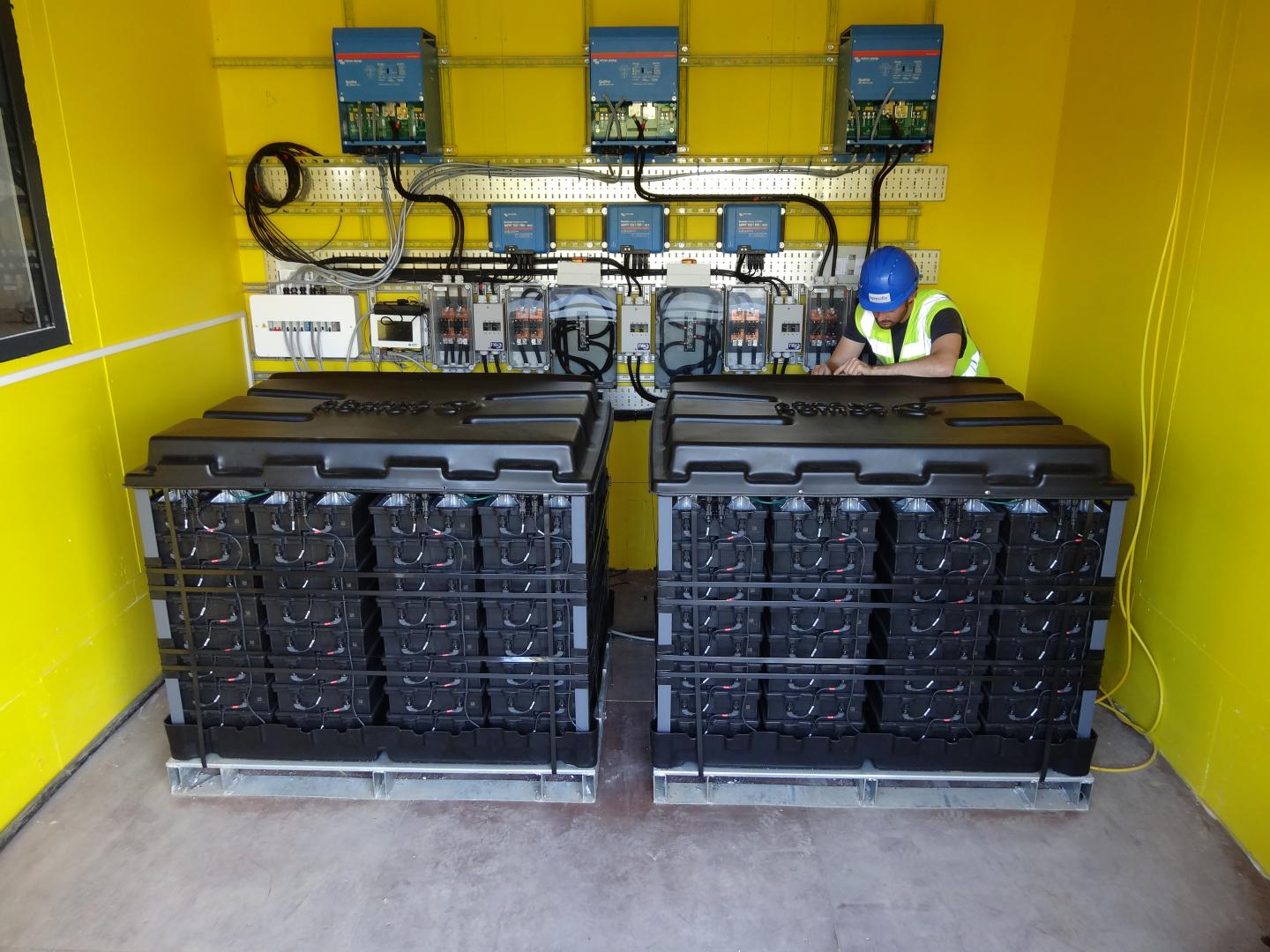 Batteries for mini power stations