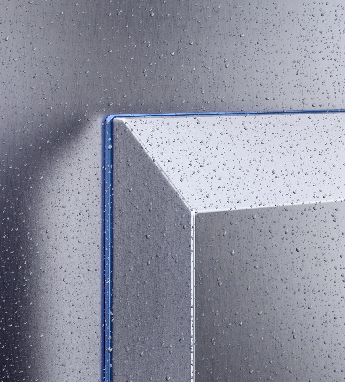 Hygienic design air/water heat exchangers