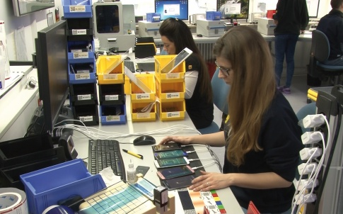 Thermal imaging aids repair of printed circuit boards