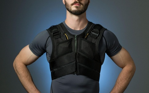 Biomechanical device to prevent low back pain