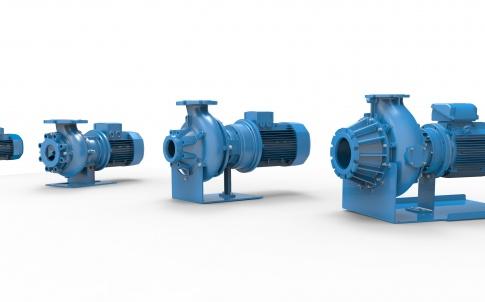 Screw centrifugal pumps