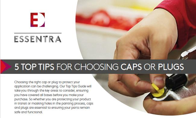 choosing caps or plugs