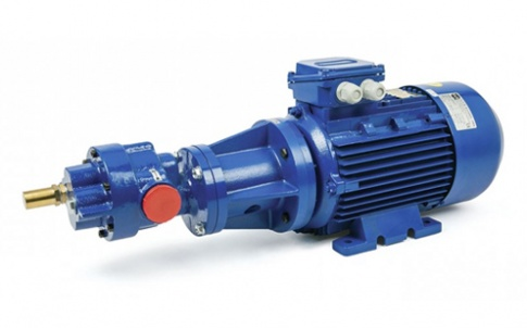 Gear pumps for the handling of viscous fluids