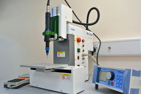 Epoxy dispensing helps electrical manufacturer reduce waste