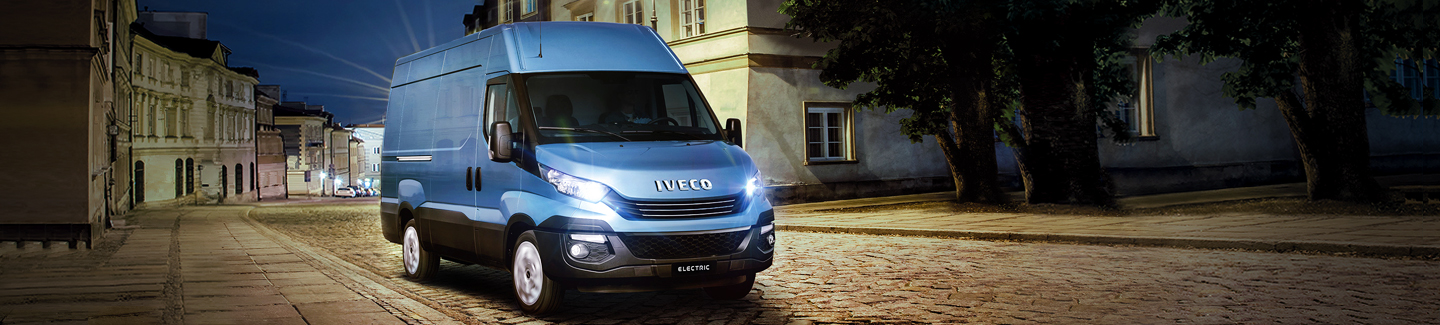elecxtrfic coimmercial vehicle Iveco daily