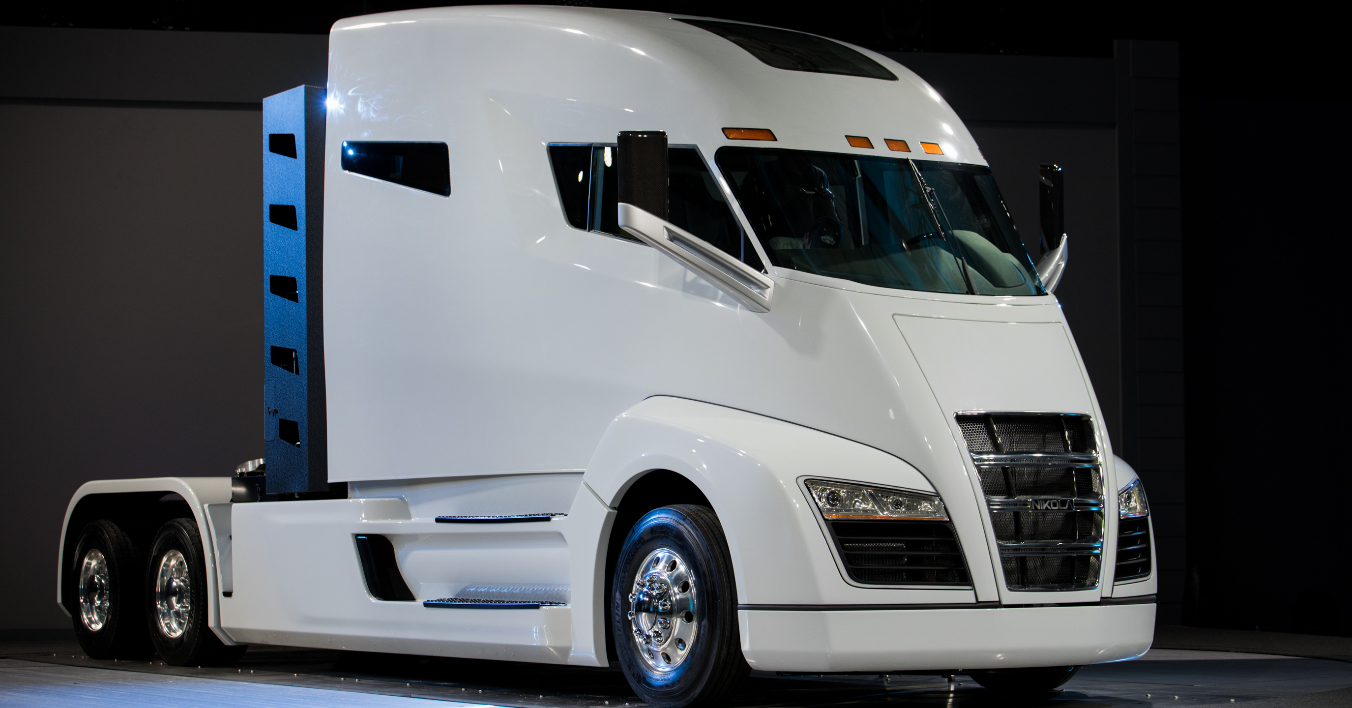 Nikola One commercial electric vehicle