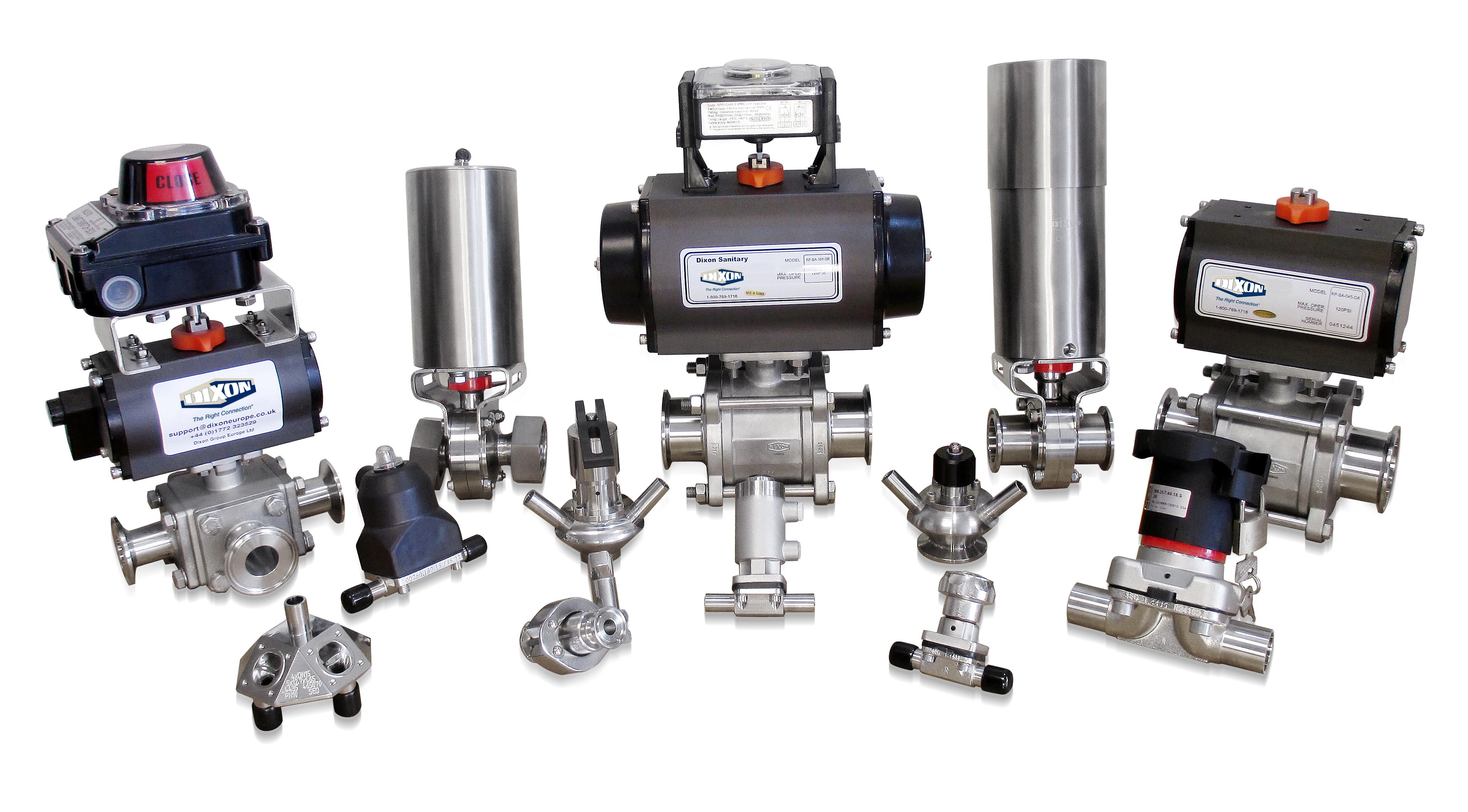 Dixon – correct valve specification