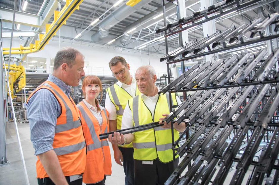 New £10m paint plant at Brose UK