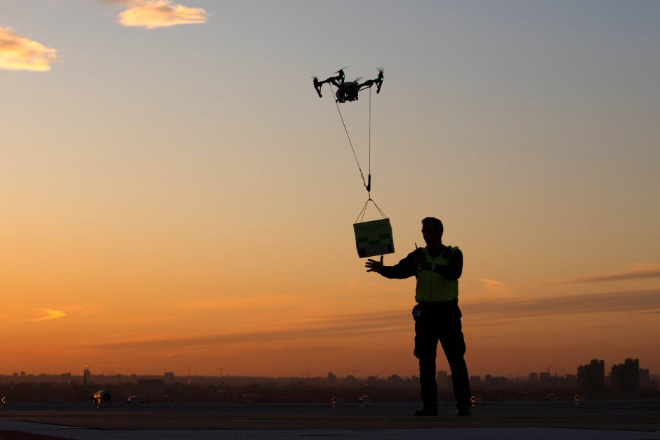 urban applications of drones