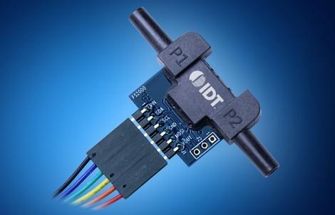 IDT flow sensor module