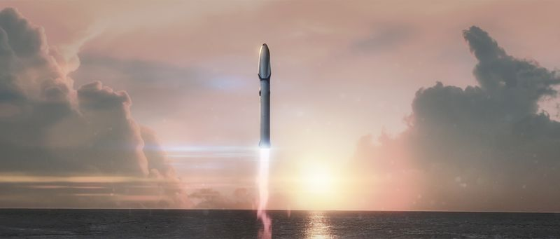 BFR successor to Falcon Heavy