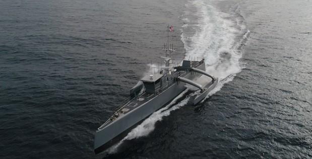 unmanned submarine hunter