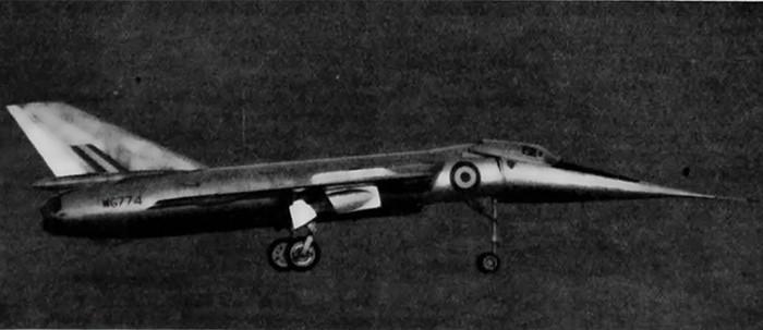 supersonic jet Fairey Delta 2