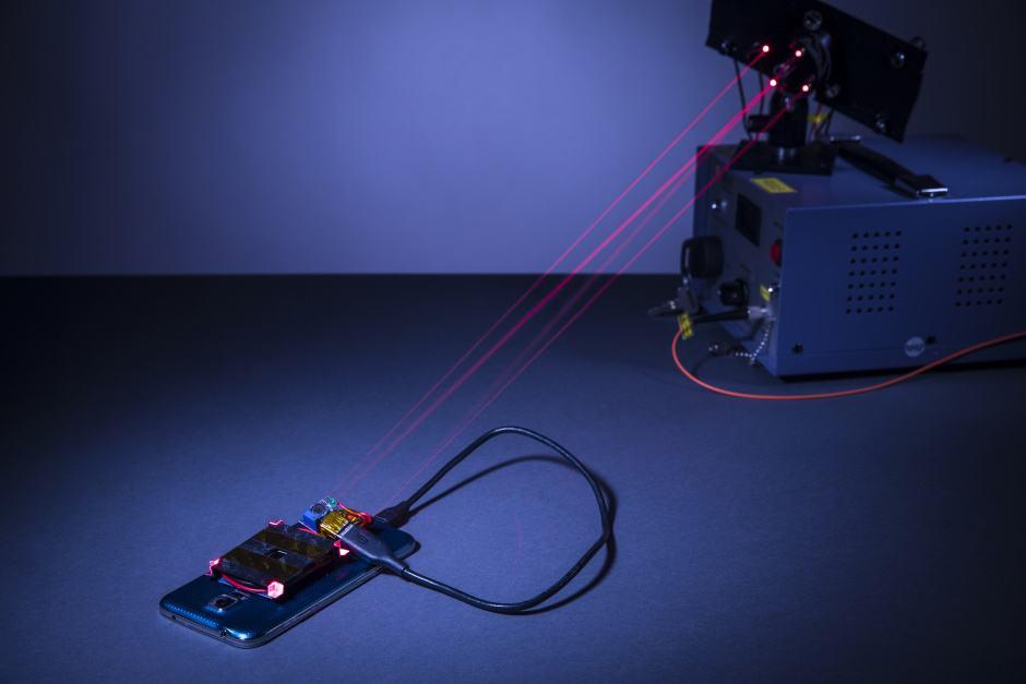 laser charging