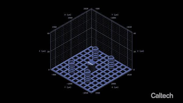 nanoscale metal structures