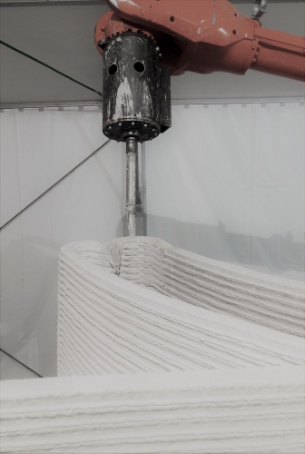 Europe's first 3D printed house