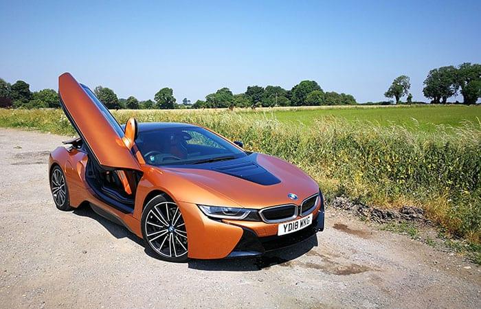 refreshed BMW i8