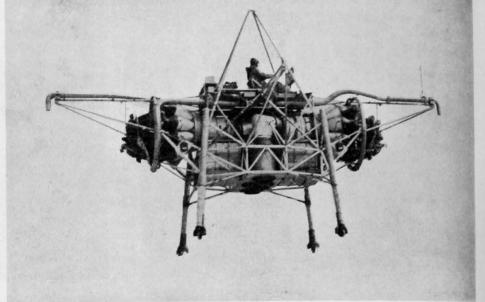 flying bedstead