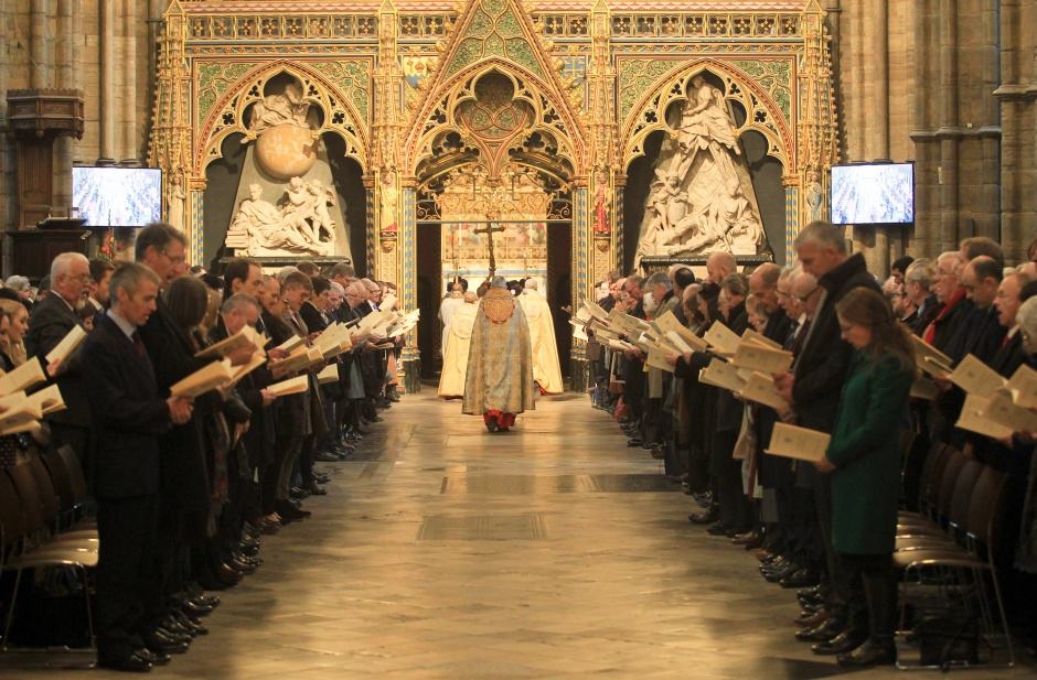 Westminster Abbey thanksgiving service
